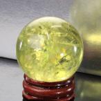 シトリン 丸玉 水晶玉 citrine 黄水晶 Gemstone 天然石【透明度バツグン 38mm】