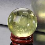 シトリン 丸玉 原石 citrine 黄水晶 Ball パワーストーン【透明度バツグン 38mm】