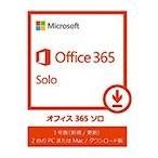 ショッピングOffice Microsoft Office 365 Solo (最新 1年更新版) カード