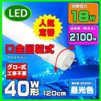 LED蛍光灯  40W形 昼光色 口金回転式