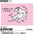 【ネグロス電工】  パイラック(一般形鋼用管支持金具)  ステンレス鋼(SUS)   S-PH1W