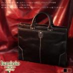 到着後レビューで送料無料 メンズトートバッグ ビジネスバッグ メンズ ブリーフケース レザー ブランド 牛革 luminio ルミニーオ A4トートバッグ 6168