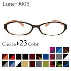 メガネ屋さんが選んだコスパ高メガネ LUNE-0005 度入りレンズ 日本製メガネ拭き 布ケース付 ブルーライトカット 伊達 度なし 家用 2021