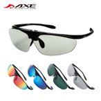 AXE(アックス) スポーツサングラス 偏光レンズ 跳ね上げ式 SG-240PE