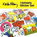 キースヘリング ステッカー 14枚セット PVC 防水 シール  Keith Haring ポップアート