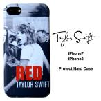 テイラー スウィフト iPhone7 iPhone8 ハードケース 液晶フィルム付き Taylor Swift  アイフォンケース