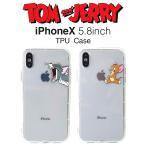SALE トムとジェリー iPhoneX iPhoneXs クリアケース トムアンドジェリー アイフォンケース