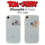 SALE トムとジェリー iPhoneXR クリアケース アイフォンケース