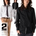 お兄系 メンズ 無地 シャツ/Garson Wave(ギャルソンウェーブ)形態安定加工シャドーチェックボタンダウンビジカジシャツ/ブロードシャツ ワイシャツ ドレス