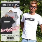 Tシャツ メンズ 半袖 NYC ニューヨーク ロゴ プリント BITTER ビター系 夏/BOXロゴプリントクルーネックTシャツ/トップス 半そで カットソー BOX ボックス