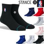 靴下 メンズ スタンス ソックス NBA バスケ バスケットボール用 LOGOMAN QTR ショート ブランド おしゃれ くつ下 STANCE SOCKS プレゼント メール便 送料無料