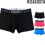 ボクサーパンツ メンズ 20%OFF Ricacosta COTTON リカコスタ ローライズ 誕生日 クリスマス プレゼント ^^