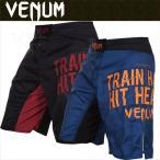 ★送料無料★ VENUM ベヌム / ファイトショーツ Train Hard Hit Heavy FIGHTSHORTS   正規品 格闘技 ブラジリアン柔術 MMA UFC コンバット キックボクシング