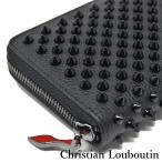 クリスチャンルブタン 長財布 パネトーネ スパイク スタッズ ブラック 1185059CM53 Christian Louboutin Panettone Wallet Black
