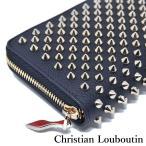 クリスチャンルブタン 長財布 パネトーネ スパイク スタッズ ブラック 1185059CM6S Christian Louboutin Panettone Wallet Black
