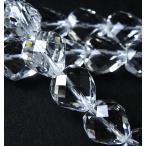 パワーストーン 天然石ビーズ 水晶ハートカットビーズ10×10