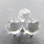 おすすめ! 天然無垢 水晶丸玉 AAA 1個販売  15mm玉 【穴無し】