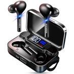 ワイヤレスイヤホン bluetooth 5.0 iPhone android 対応 高音質 IPX7完全防水 ブルートゥース イヤホン スポーツ 両耳 左右分離 防水 スポーツ  マイク (K18)