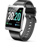 スマートウォッチ ブレスレット iphone アンドロイド line対応  腕時計  歩数計 女性 生理周期 ipx67防水  レディース  メンズ 大文字 (Y13)