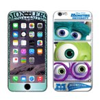 iPhone6 iPhone6s 【Disney(ディズニー)xGizmobies(ギズモビーズ)】 「MU(モンスターズインク)」 マイク サリー プロテクター カバー ラメ