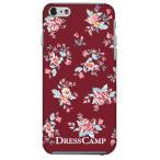 iPhone 6s iPhone6 (4.7インチ)専用 【DressCamp/ドレスキャンプ】 花柄(赤)