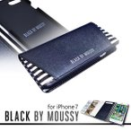 iPhone7 【BLACK BY MOUSSY/ブラックバイマウジー】 「手帳ケース-4Color」 ブランド 迷彩