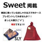iPhone7 Sweet雑誌掲載 SLY スライ ペイズリー 手帳ケース