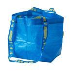 メール便送料無料 IKEA/イケア FRAKTA キャリーバッグ S ブルー ショッピングバッグ