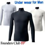 メール便で送料無料!Founders Clubメンズコンプレッションシャツ/ゴルフインナーシャツ/fc-1500