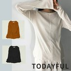 TODAYFUL LIFE'S Randomrib Long T-Shirts 12010620