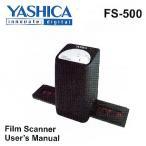 YASHICA フィルムスキャナー FS-500ブラック(海外パッケージ)