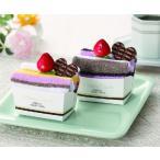 ショートケーキタオルハンカチ 40個以上で御注文をお願いします プチギフト 景品 粗品