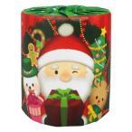 クリスマス サンタ トイレットペーパー 1個 55円 100個セット バラ発送不可 プレゼント ロールティッシュ