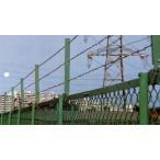 取付しのび BP-A型 亜鉛メッキ H450 有刺鉄線3段用 10セット
