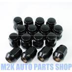 国産車 全般対応 普通車 ブラック ナット P1.5 P1.25 19HEX 21HEX 16個 ドレスアップナット M12 送料無料 特価 60度テーパー 袋タイプ コンパクトカー