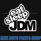 ヘラフラ スタンス ステッカー 1枚 EAT SLEEP JDM usdm 送料無料