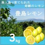 無農薬レモン 奇跡の無人島れもん 瀬戸内産 3kg 約21個