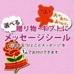 メッセージ ■母の日■ 選べる!メッセージシール ¥1!