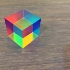 CMY cube 色の三原色キューブ