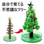 クリスマスツリー 卓上 マジック クリスマスツリー 12時間で育つ不思議なクリスマスツリー マジックツリー