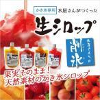 かき氷生シロップ 250g 果実がそのまま 天然素材のかき氷シロップ いちご味 マンゴー味 あんず味 トマト味
