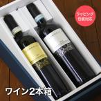 ワイン購入者限定 ワインラッピング  2本用ボックスと包装紙
