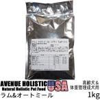 リパック品 アベニュー ホリスティック USA シニアライト ラム&オートミール 高齢犬&体重管理用 1kg