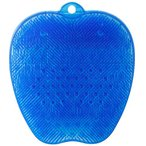 普通郵便送料無料 トーン tone フットブラシ ブルー TR-15BE 角質ケア 4580395887296