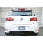 einsatz(アインザッツ) s622マフラー Volkswagen GOLF6 TSIハイライン テール:Type1(真円カールタイプ) 送料160サイズ