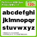 Yahoo!ぜっけん堂(マックカットヤフー店)アイロンワッペン 英字小文字(最大3cm)