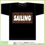 ヒョウ柄セーリングTシャツ(黒)