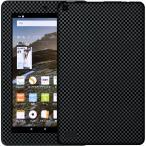 Fireタブレット(2015 8GB) 対応 専用 デコ シート decotto 表面・裏面キューブブラック 柄 液晶保護フィルム付