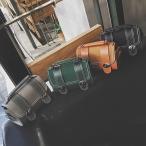 レトロ感のある2wayミニボストンバッグ ショルダー レザー調 可愛い お洒落 BG-0240