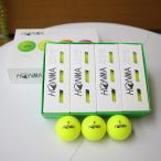 本間ゴルフ D1 ボール イエロー HONMA GOLF BALL ゴルフボール 1ダース ホンマ 安い 19ss